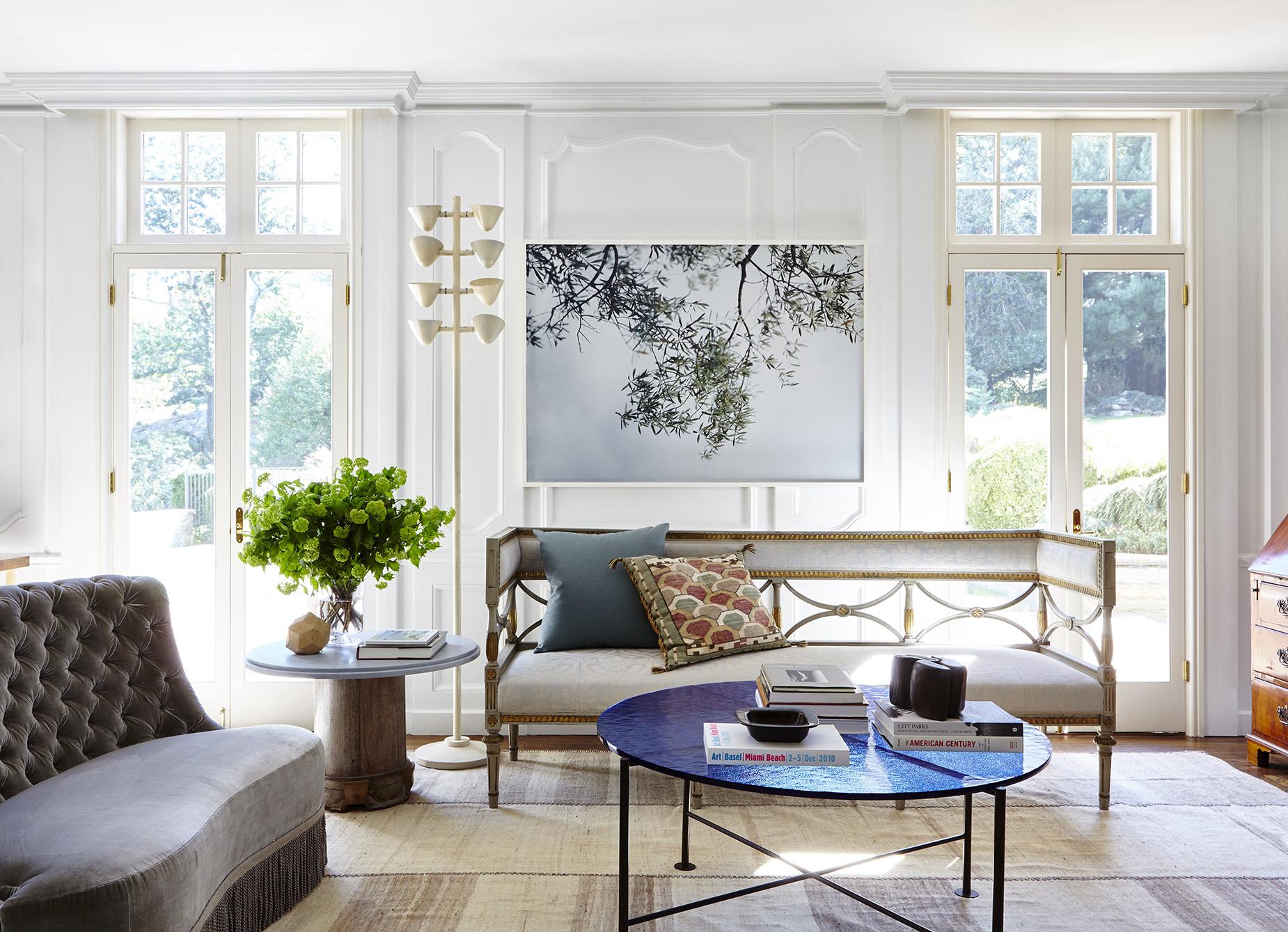 Greenwich CT house,  Interior Design: Ferrer