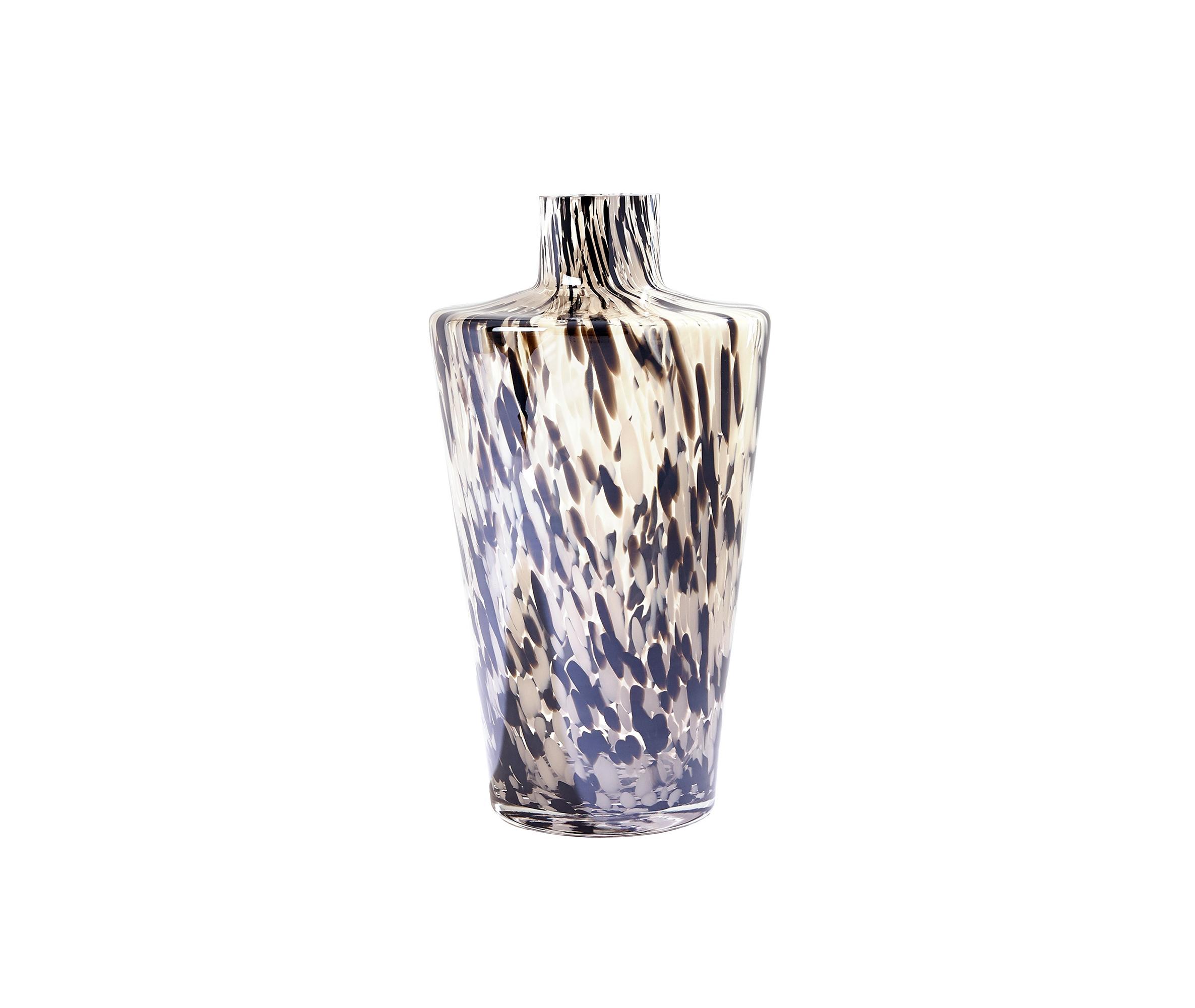 Global Views_Confetti Shoulder Vase Black Beige_int_products