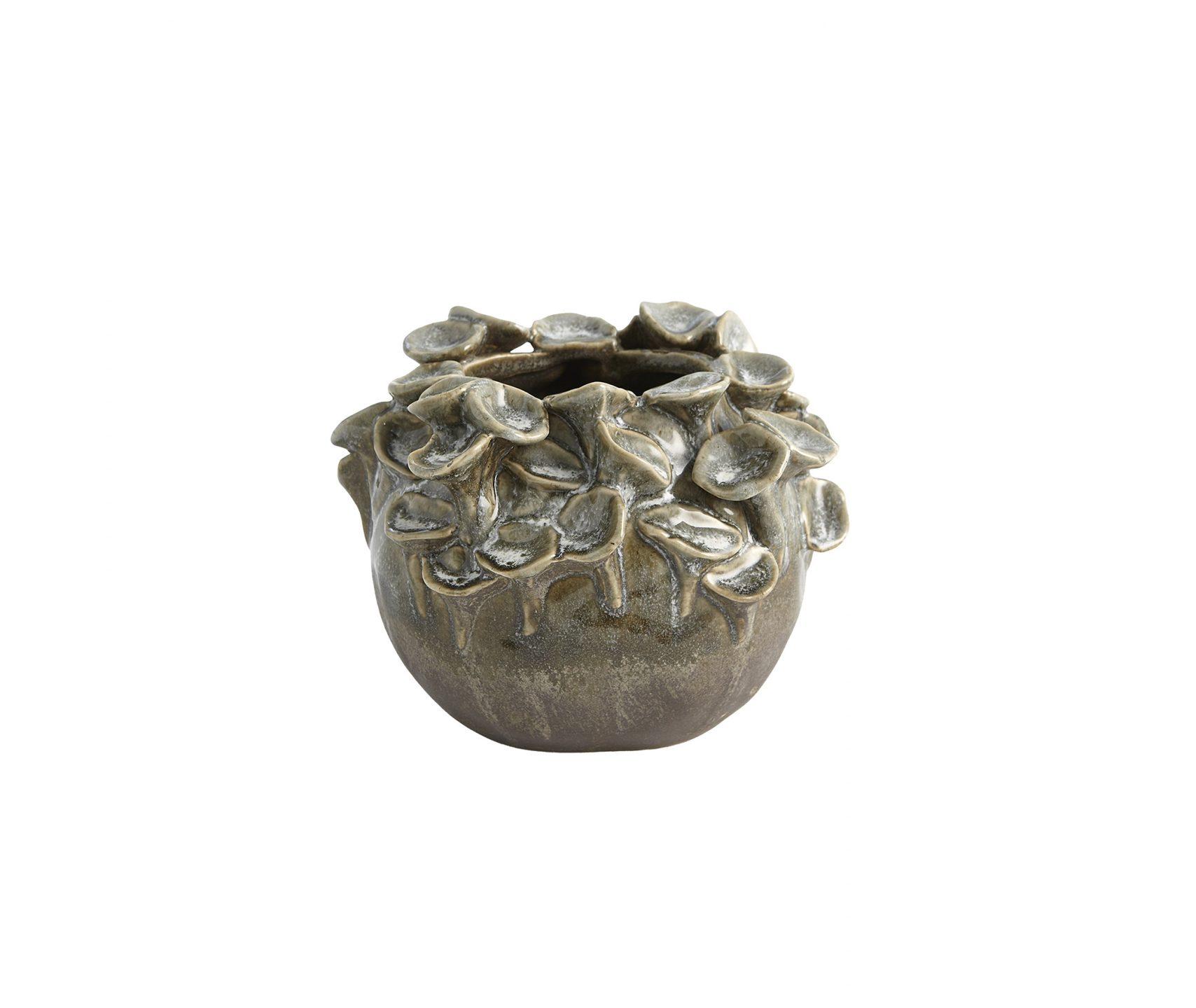 Global Views_Flat Sea Coral Vase-Reactive Sage_Lg_interiors_products_main